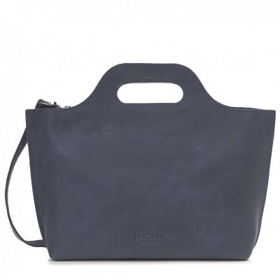 Foto van MYOMY MY CARRY BAG HANDBAG HUNTER BLUE GREY - TAS