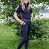 Foto van Kingsland Junior Set Meisjes Rijlegging + Polo Blauw Burgundy