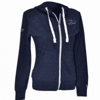 Flags And Cup Sweat Dame Dames Hoodie, Blauw