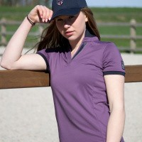 Kingsland Andries Polo Dames, Violet Vintage