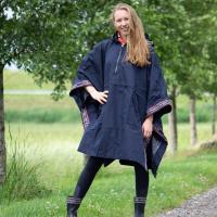 Kingsland Blair Dames Regen Poncho Blauw