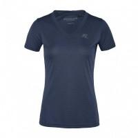 Kingsland Desma V-Neck Shirt Dames, Blauw China