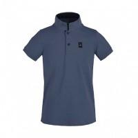 Kingsland Ales Tec Pique Polo Shirt Jongens, Blauw China