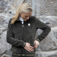 Kingsland Dekatja Dames Fleece Vest Groen/Zwart