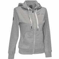 Flags And Cup Sweat Dame Dames Hoodie, Licht Grijs