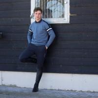 Kingsland Andrei Knitted Sweater Heren, Blauw China