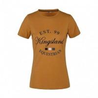 Kingsland Lagda Dames T-Shirt, Geel Narcissus