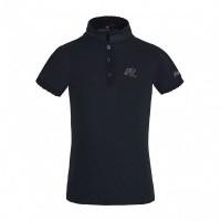 Kingsland Laggie Cotton Pique Shirt Meisjes, Blauw