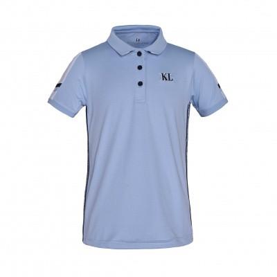 Foto van Kingsland Vera Junior Polo Shirt Licht Blauw