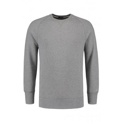 Denham Gusset Sweat Grey