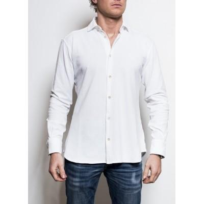 Circolo Mens's Shirt Bianco