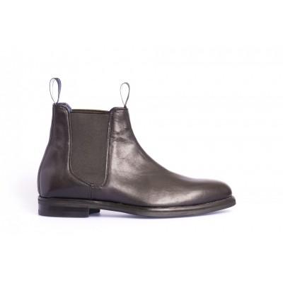 MAC. Fincher Black Leather Alfred
