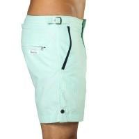 Afbeelding van Swim Short Tampa Stripes Hint of Mint