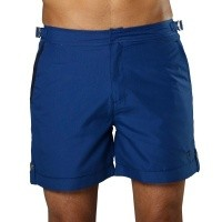 Swim Short Tampa Solid Presidential Blue