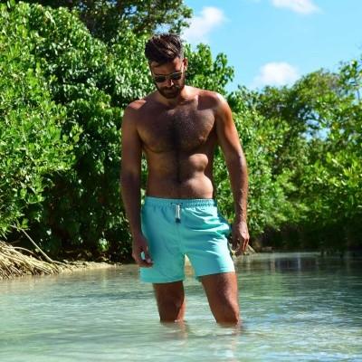Foto van Swim Short Miami Fern Green