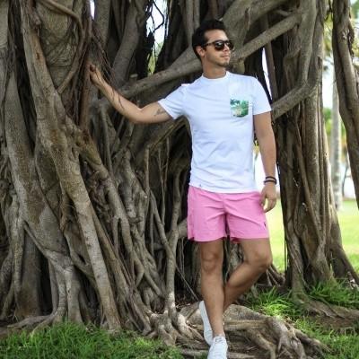 Foto van Swim Short Miami Deep Pink