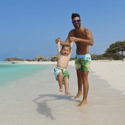 Foto van Swim Short Molokai Beach Son