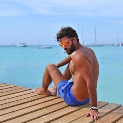 Foto van Swim Short Miami True Blue