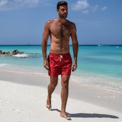 Foto van Swim Short Miami Apple Red