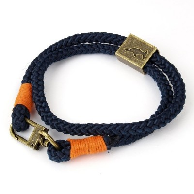 Foto van Bracelet Orlando Blue/Orange