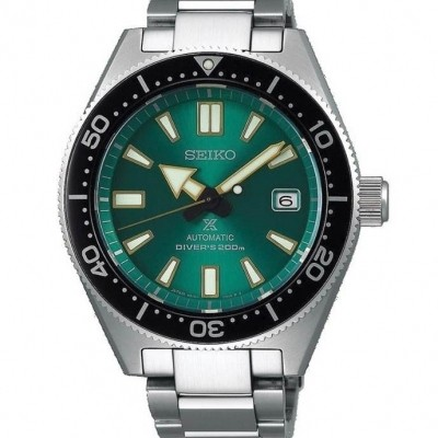 Seiko Prospex DIVER's green dial automatic Limited Edition SPB081J1