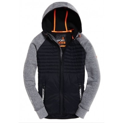 Foto van Superdry Gym Tech Hybrid Ziphood