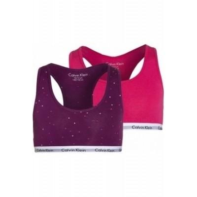 Foto van Calvin Klein 2 pack bralette G80G897002 viva pink/bold violet