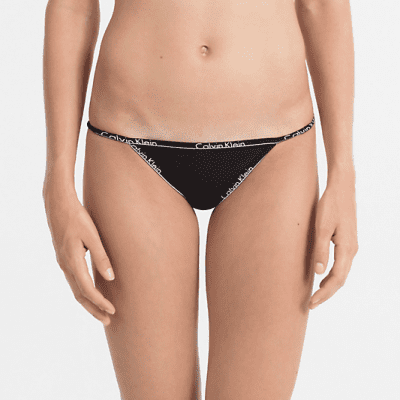 Foto van Calvin Klein bikini cotton QF1754E zwart