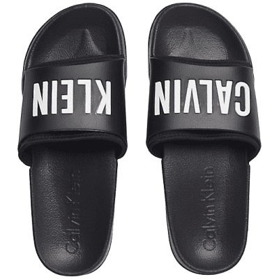 Foto van Calvin Klein SLIDE, K9UK014044001 zwart slippers