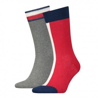 Foto van Tommy Hilfiger 2 pack Iconic Flag Sock 471013001085039
