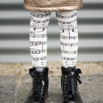 Foto van Bonnie Doon cotton maillot BN75.39.40 Brillante Tights Ivory