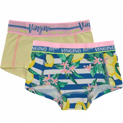 Foto van Vingino short Lemon 2-pack girls HS18KGN72304-399