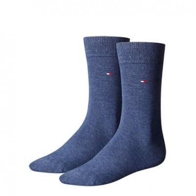 Foto van Tommy Hilfiger 2 pack heren sokken 371111 356 jeans