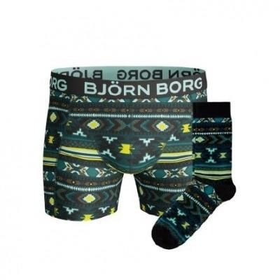 Björn Borg Socks & Short for him giftbox NAJAVO XMAS_BOX 1741-1424 71391