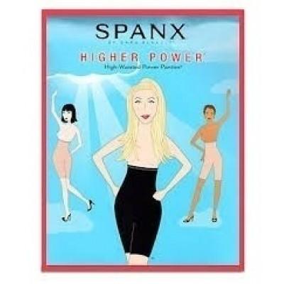 Foto van Spanx higher power high-waisted power panties black 409