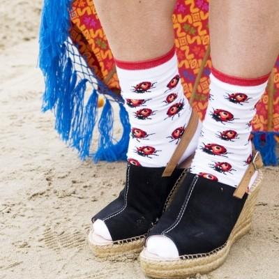 Foto van Bonnie Doon Ladybird Sock BN841121