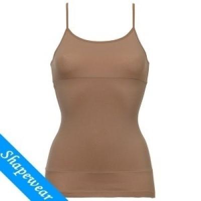 Foto van Ten Cate shapewear cotton hemd 3824 tan