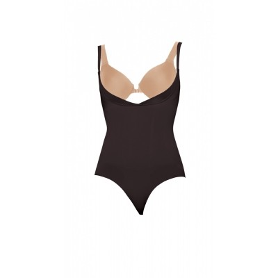 Foto van Spanx slimmer&shine open-bust bodysuit 1060 black