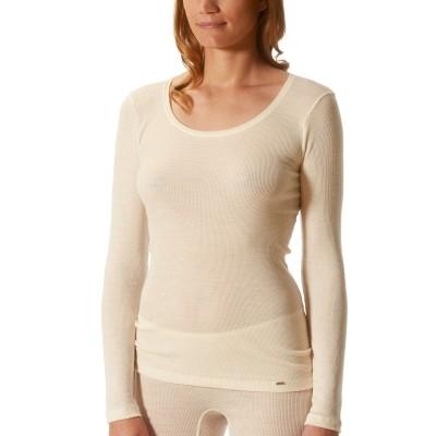 Foto van Mey t-shirt lange mouw soft wool 66801