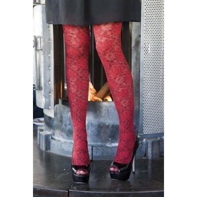 Foto van Bonnie Doon Layered Lace Tights BN251966 stawberry