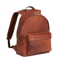 Leather Backpack Cognac Medium Andrew Cognac