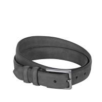 Leather Belt Levi Antracite Anthracite