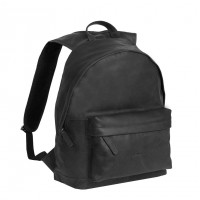Leather Backpack Black Medium Andrew Black