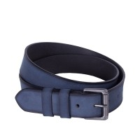 Leather Belt Milan Navy Navy