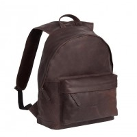 Leather Backpack Brown Medium Andrew Brown