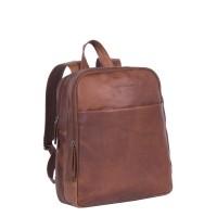 Leather Backpack Cognac Dex Cognac
