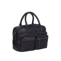 Leather Shoulder Bag Black Ruben Black