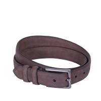 Leather Belt Levi Brown Medium Bruin