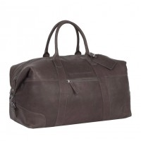 Leather Weekend Bag Brown Portsmouth Brown