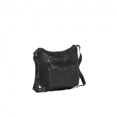 Photo of Leather Shoulder Bag Black Florence